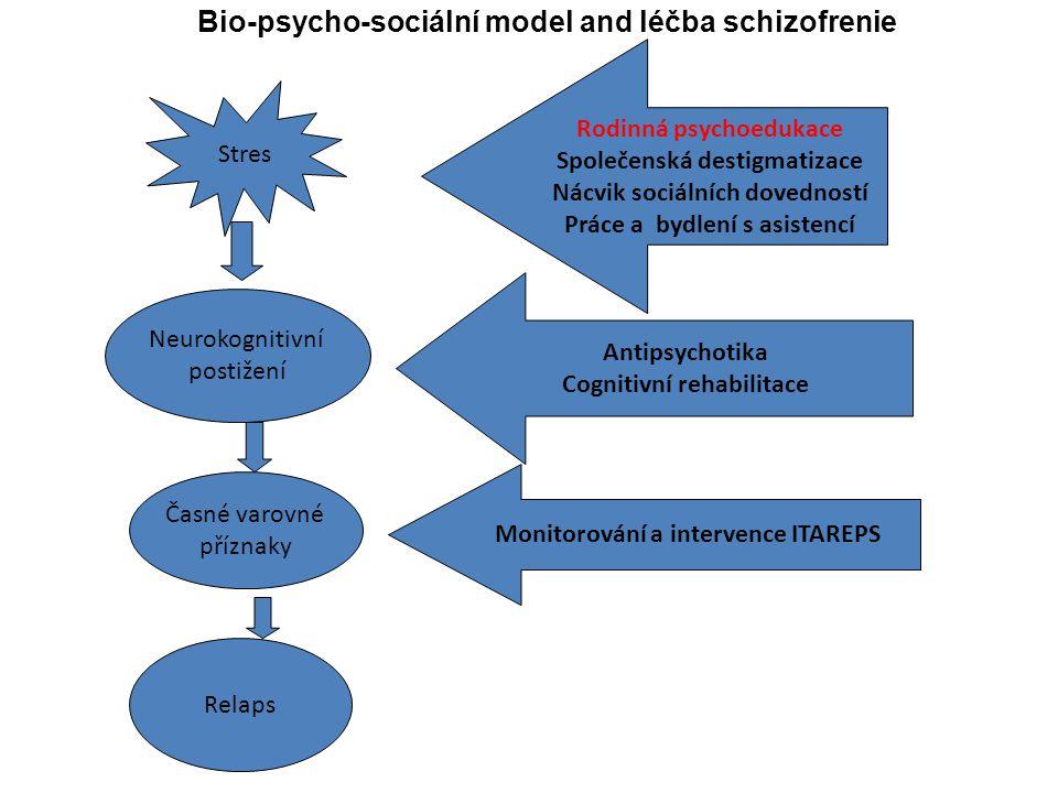 Bio-psycho-sociální model and léčba schizofrenie
