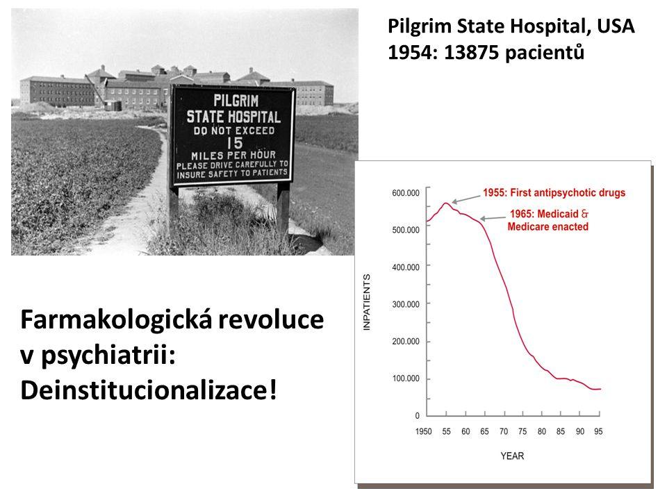 Farmakologická revoluce v psychiatrii: Deinstitucionalizace!
