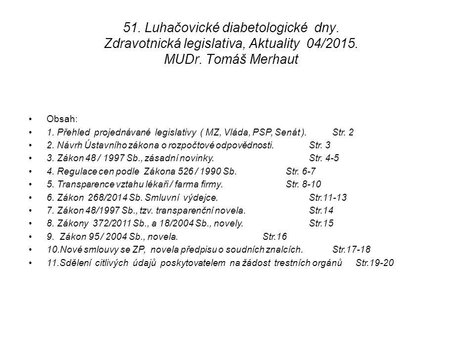 51. Luhačovické diabetologické dny