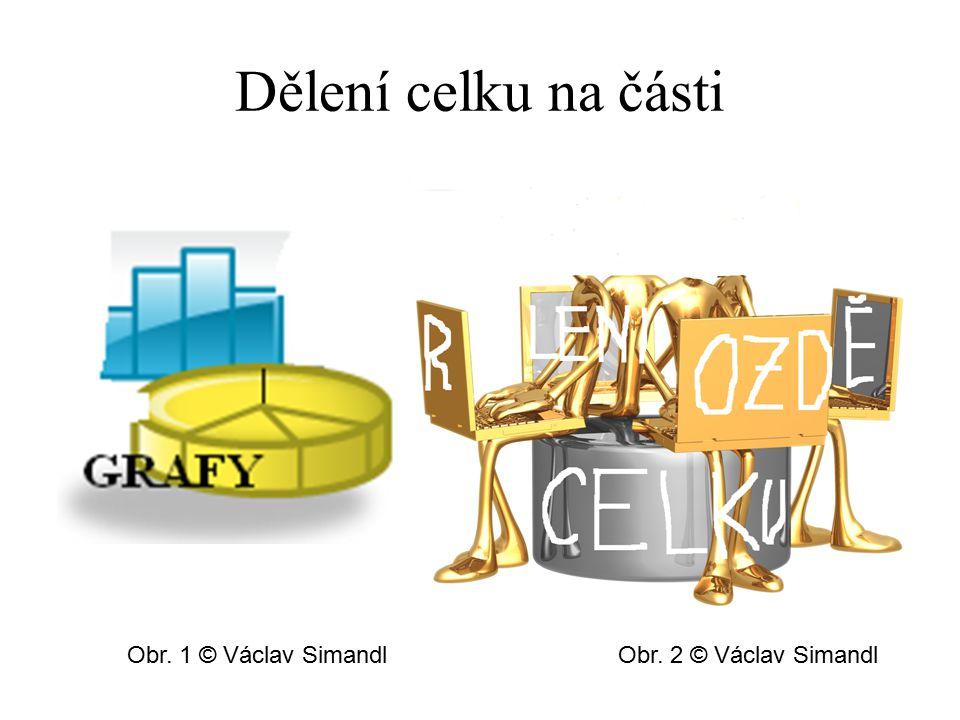 Dělení celku na části Obr. 1 © Václav Simandl Obr. 2 © Václav Simandl