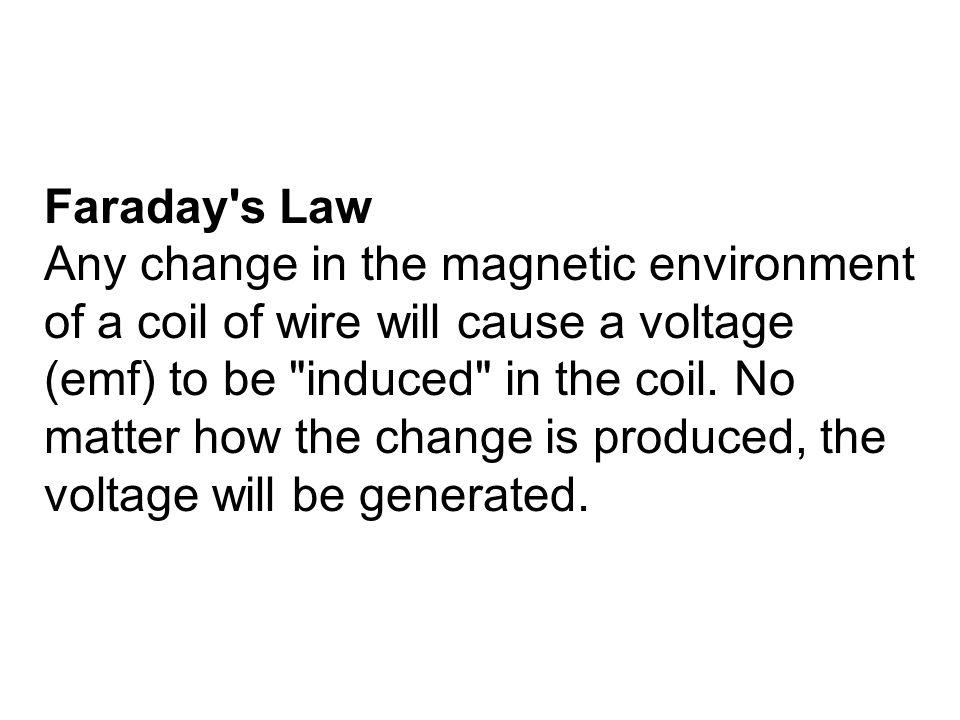 Faraday s Law
