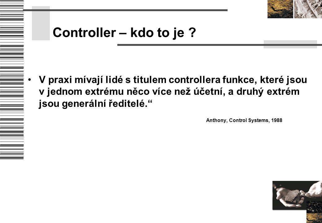 Controller – kdo to je