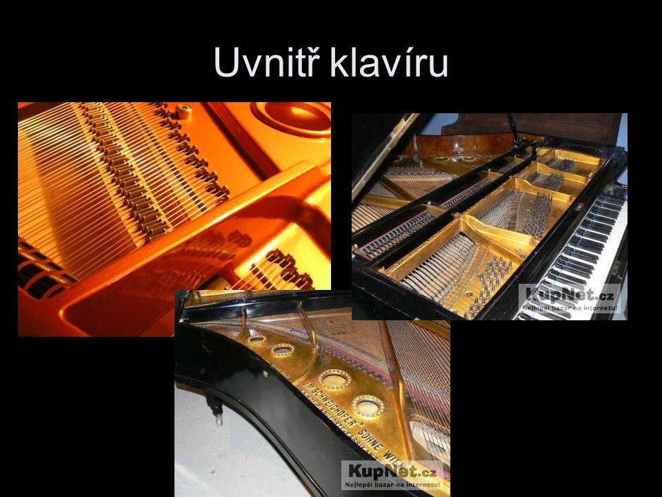 Uvnitř klavíru
