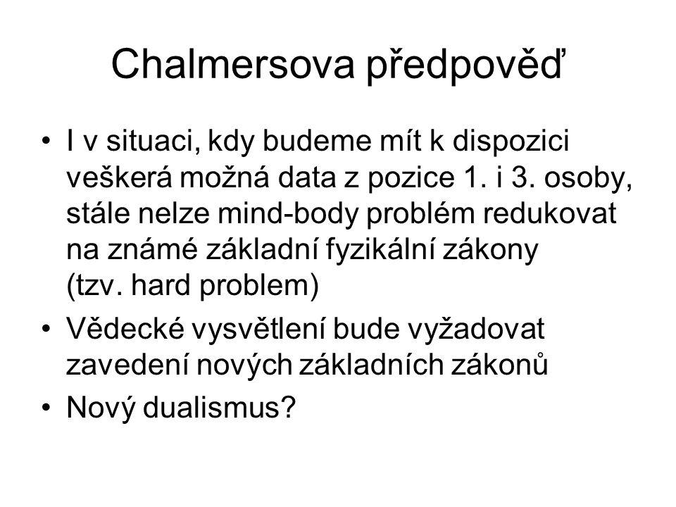 Chalmersova předpověď