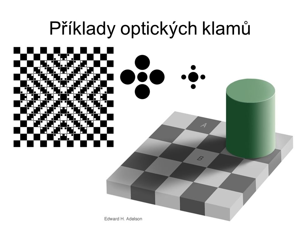 Příklady optických klamů