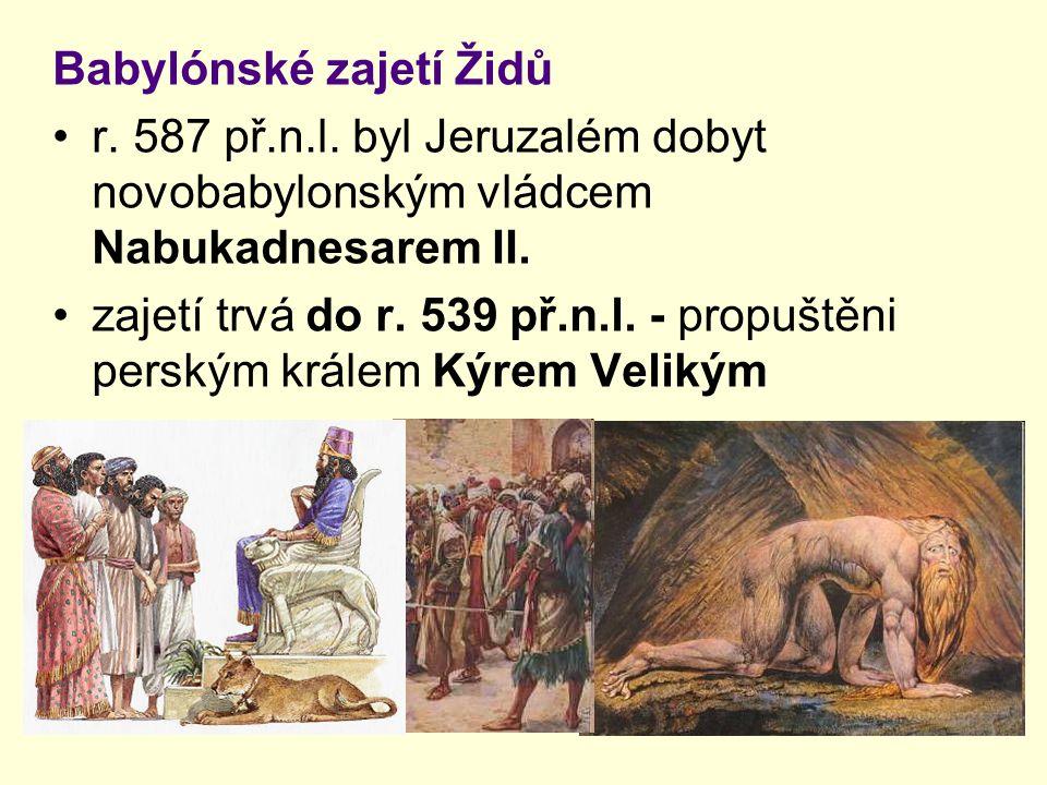 Babylónské zajetí Židů