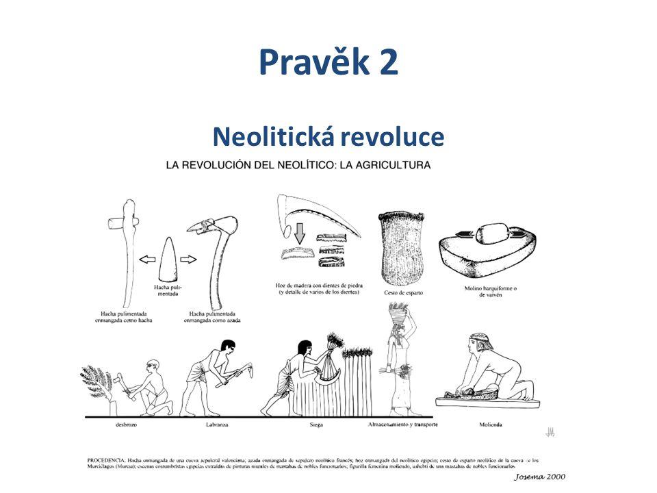 Pravěk 2 Neolitická revoluce