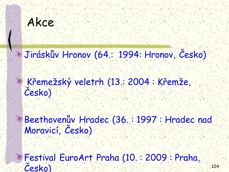 Akce Jiráskův Hronov (64.: 1994: Hronov, Česko)