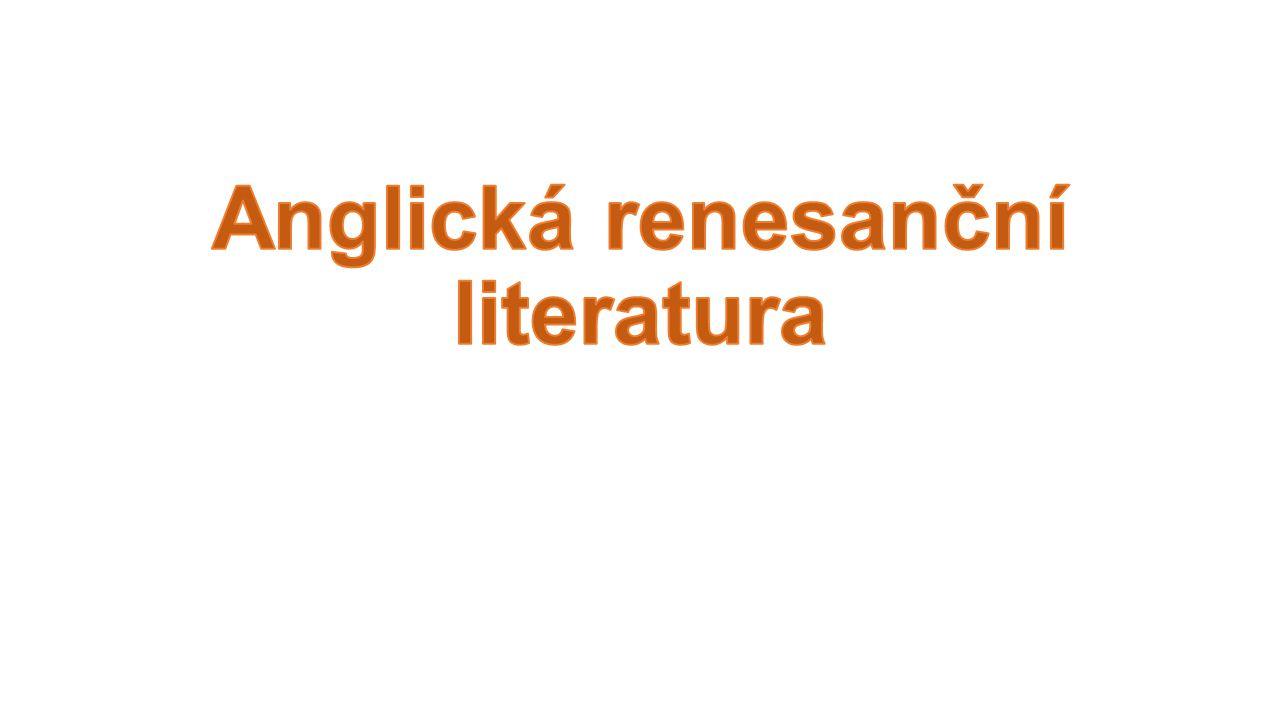 Anglická renesanční literatura