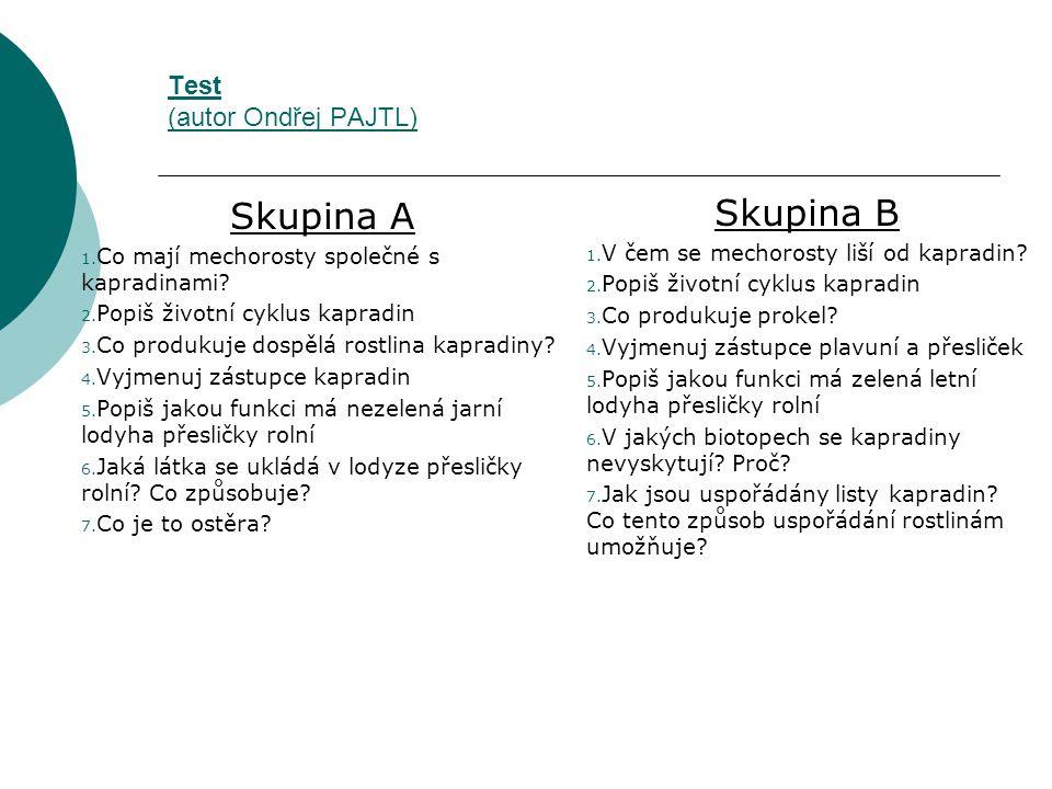 Test (autor Ondřej PAJTL)