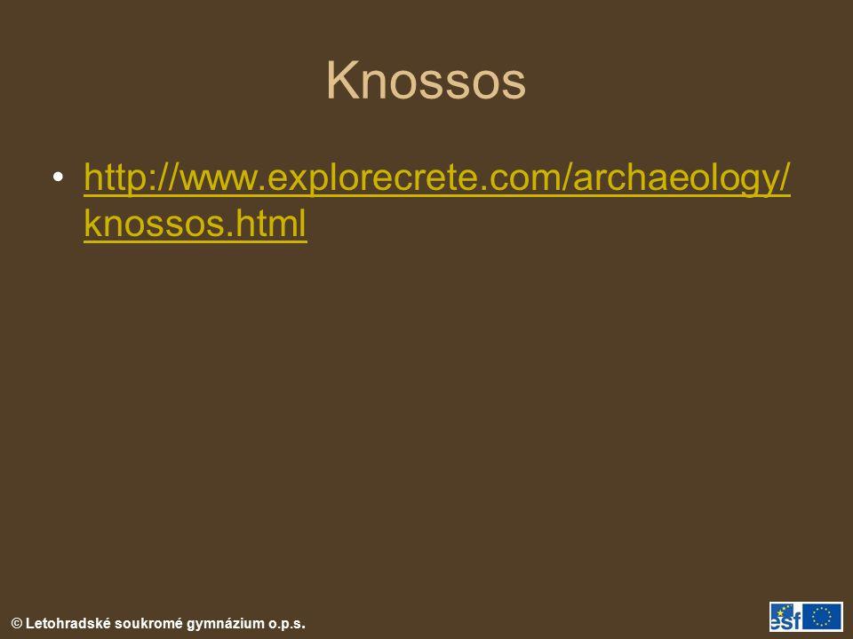 Knossos http://www.explorecrete.com/archaeology/knossos.html