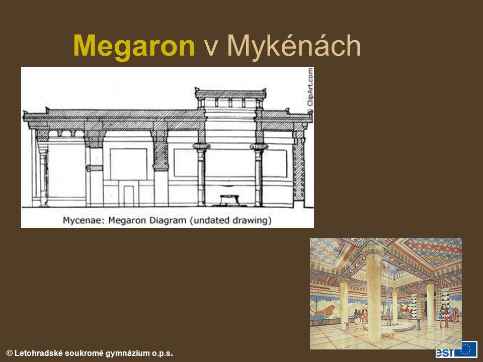Megaron v Mykénách