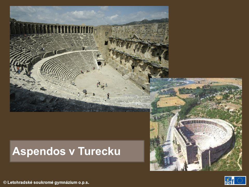 Aspendos v Turecku