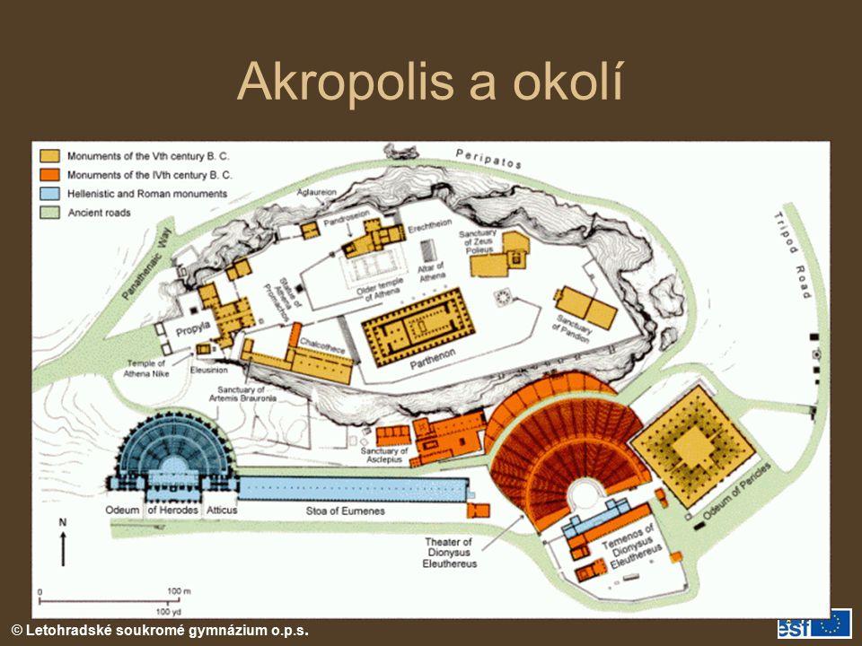 Akropolis a okolí
