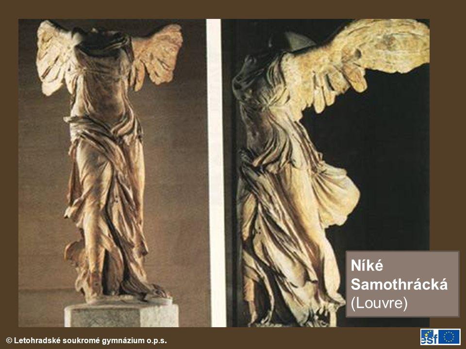 Níké Samothrácká (Louvre)