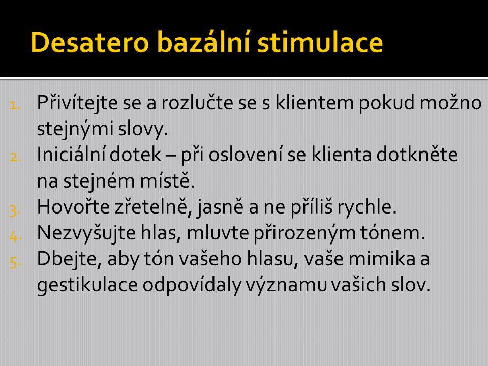 Desatero bazální stimulace