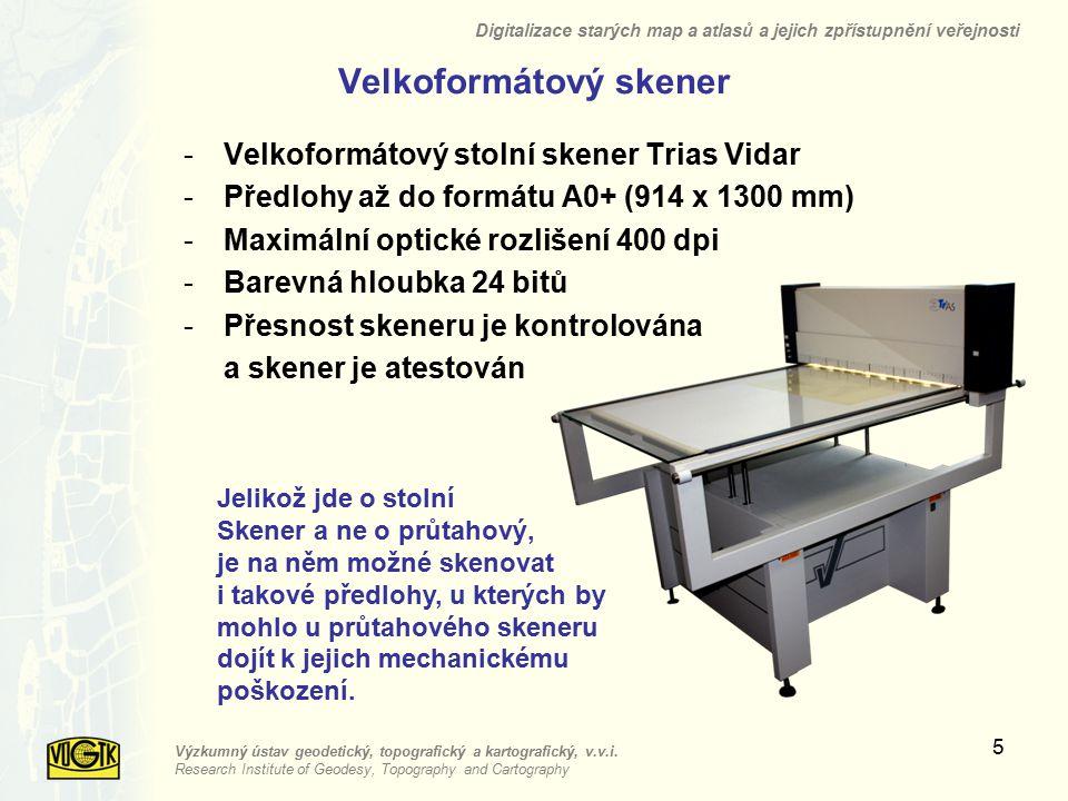 Velkoformátový skener