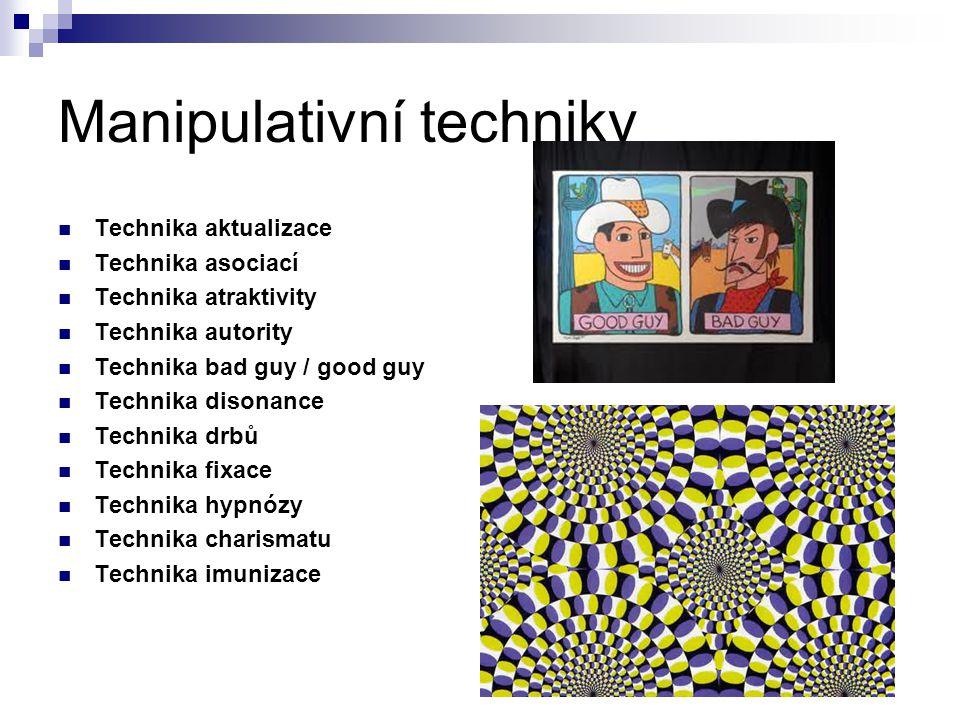 Manipulativní techniky