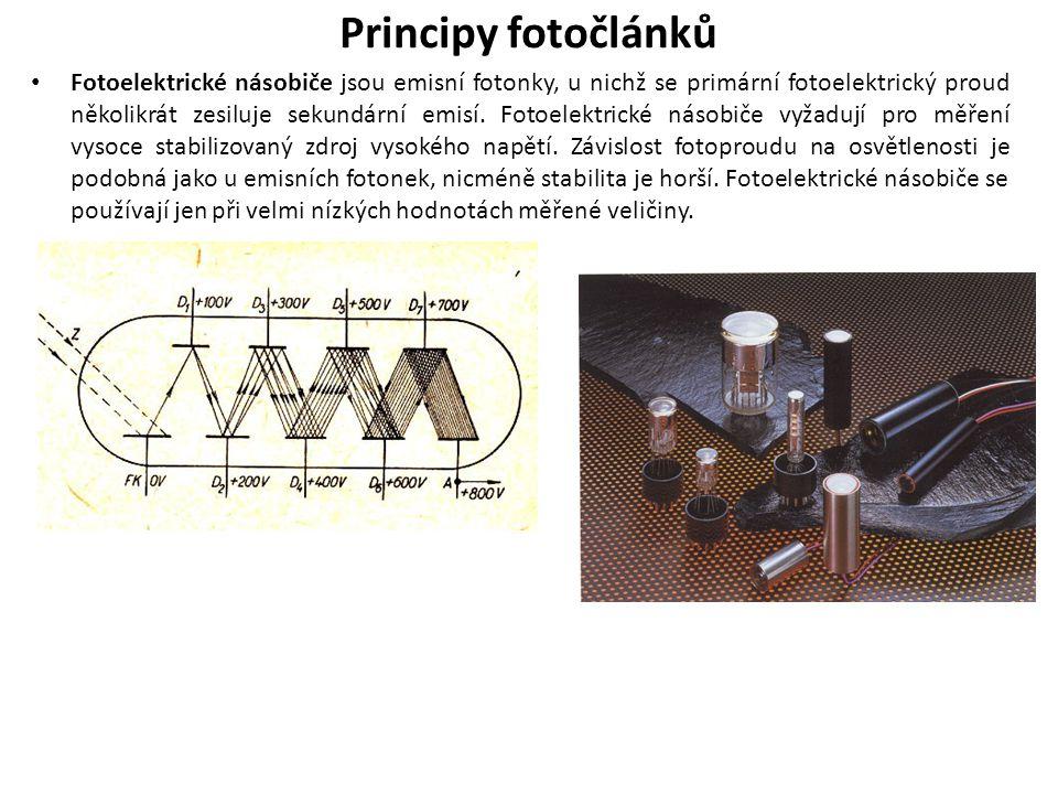 Principy fotočlánků