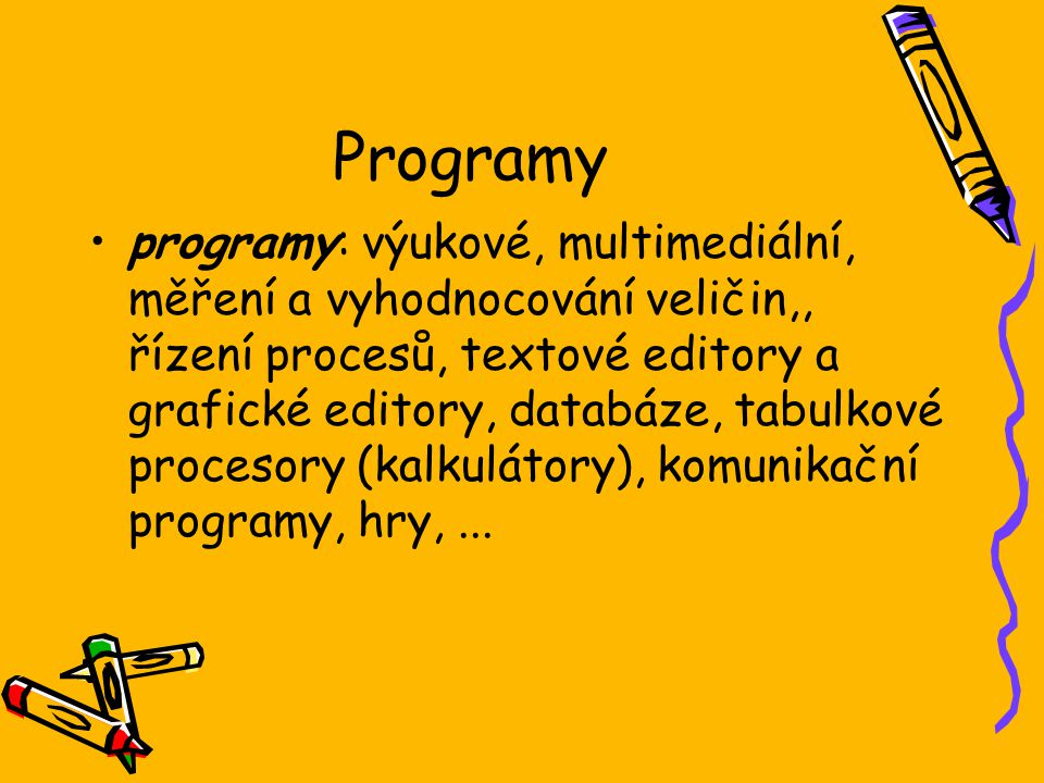 Programy