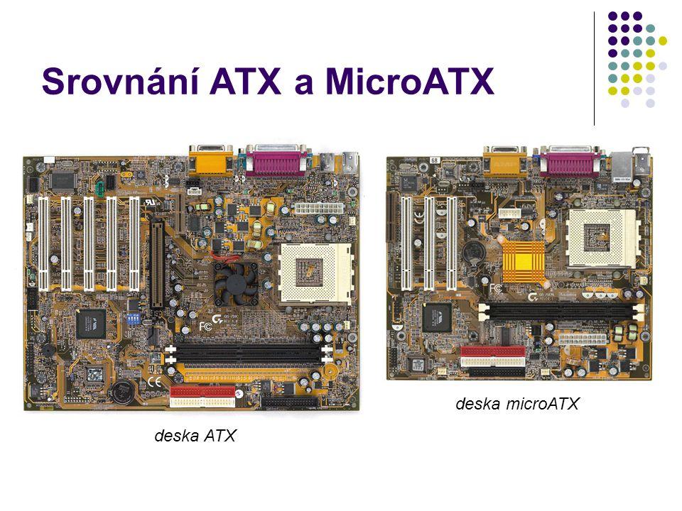 Srovnání ATX a MicroATX