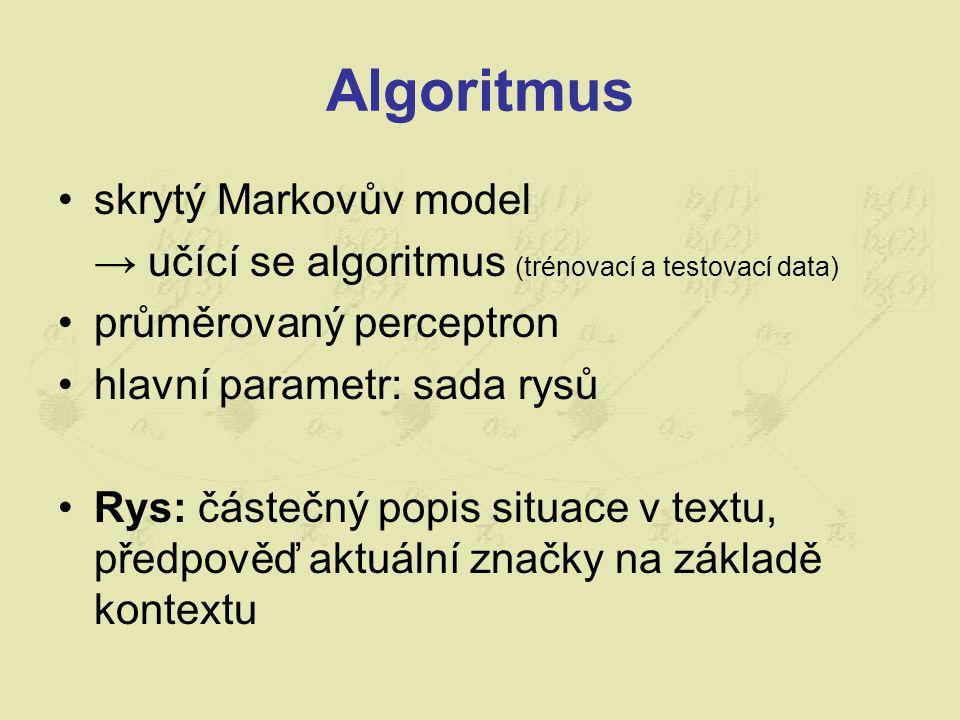 Algoritmus skrytý Markovův model
