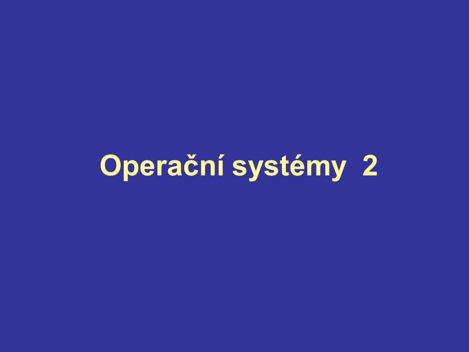 Operační systémy 2