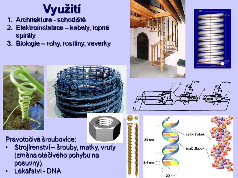 Využití Architektura - schodiště