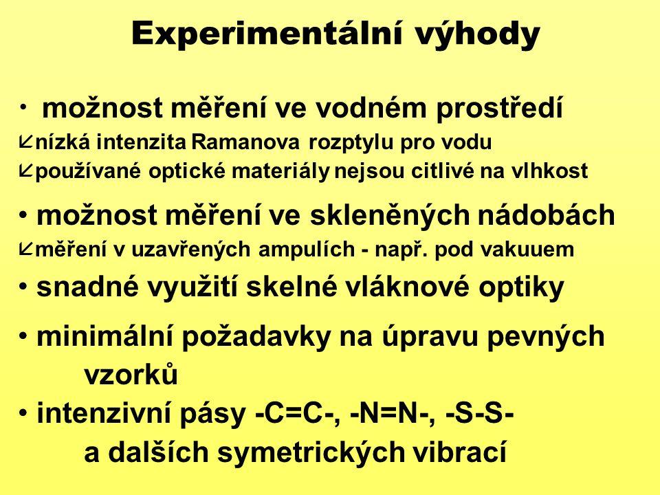 Experimentální výhody