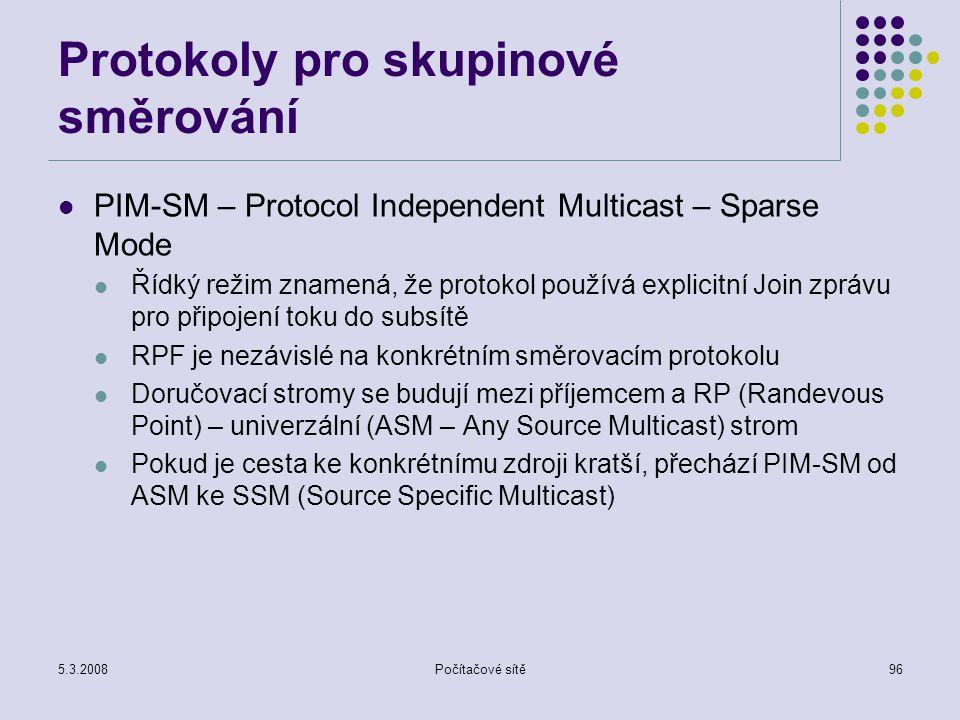 Protokoly pro skupinové směrování