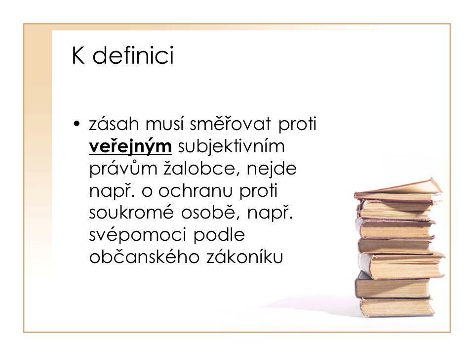 K definici