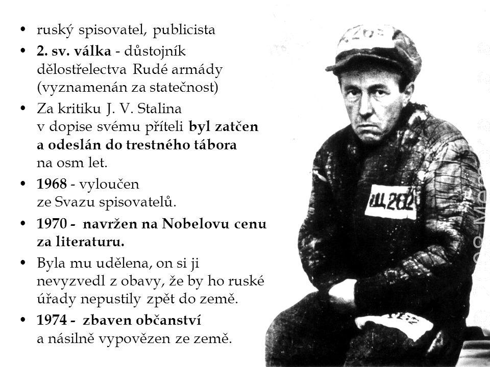 ruský spisovatel, publicista