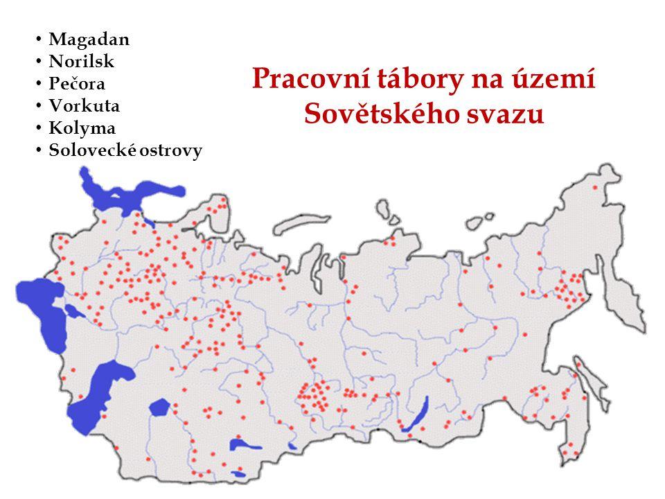 Pracovní tábory na území Sovětského svazu