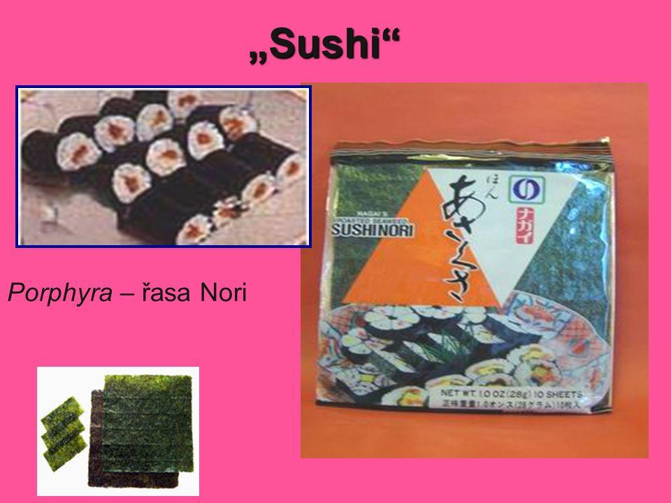 """""""Sushi Porphyra – řasa Nori"""