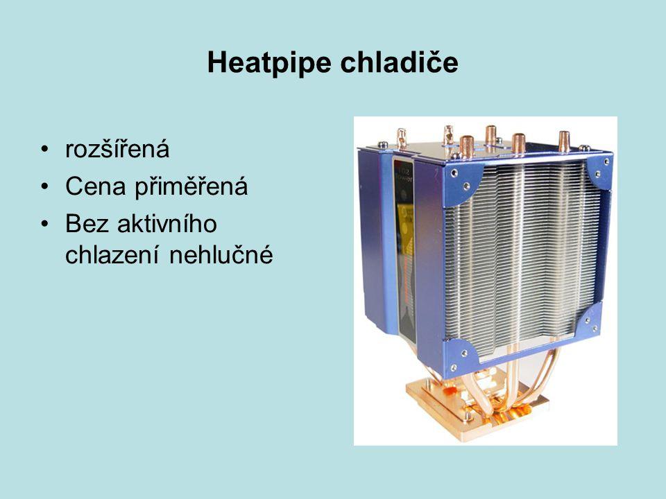 Heatpipe chladiče rozšířená Cena přiměřená