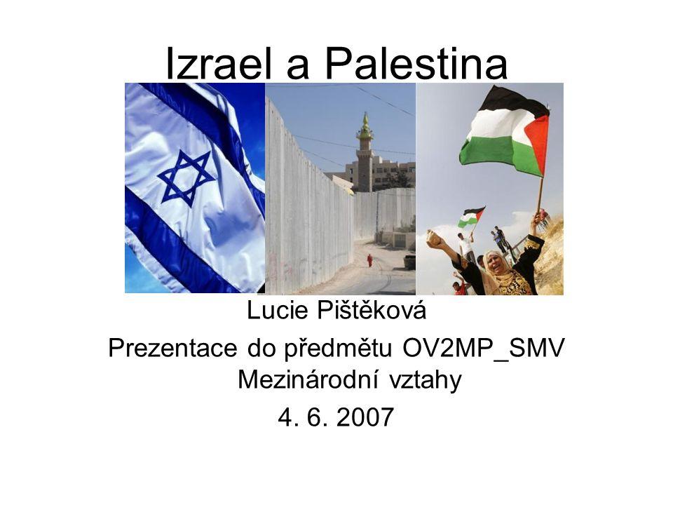 Prezentace do předmětu OV2MP_SMV Mezinárodní vztahy