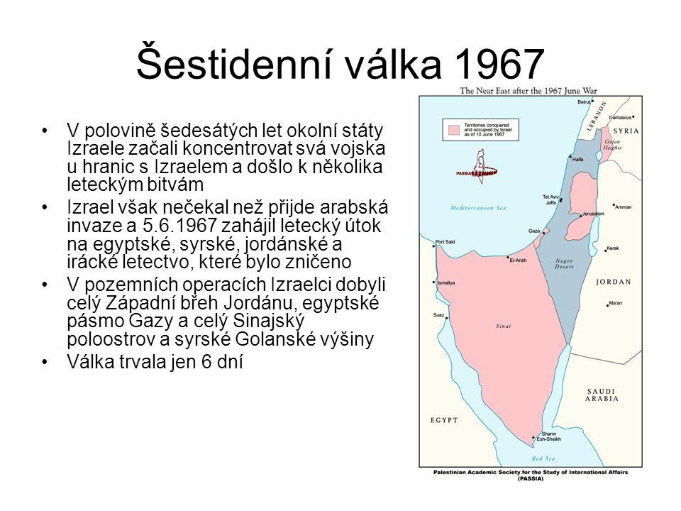 Šestidenní válka 1967