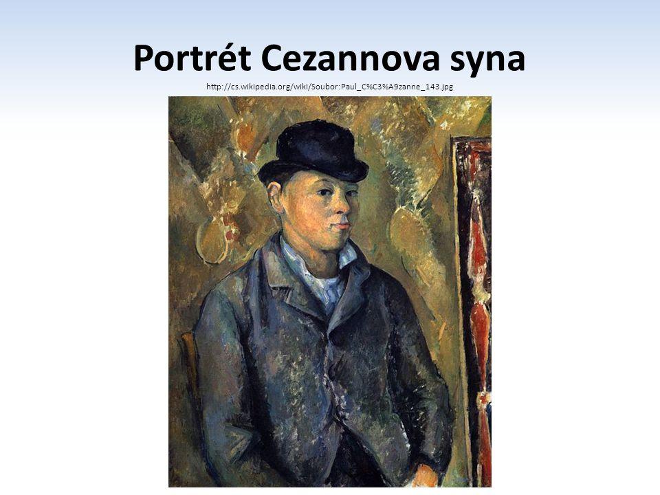 Portrét Cezannova syna