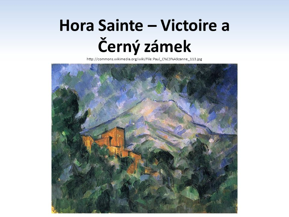 Hora Sainte – Victoire a