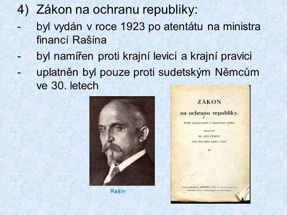 Zákon na ochranu republiky: