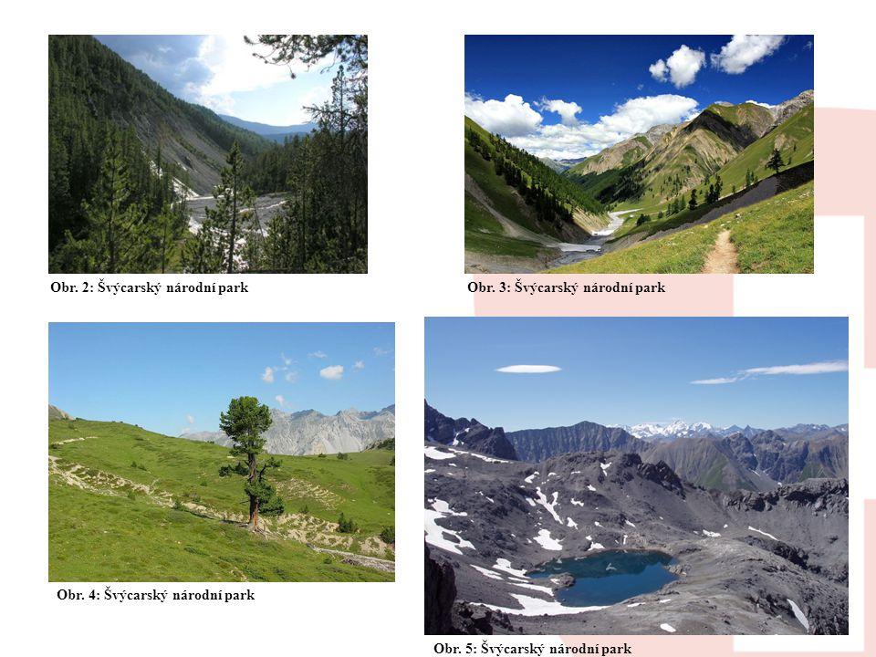 Obr. 2: Švýcarský národní park