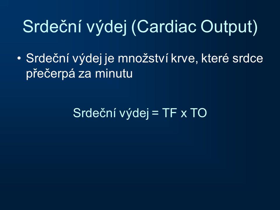 Srdeční výdej (Cardiac Output)