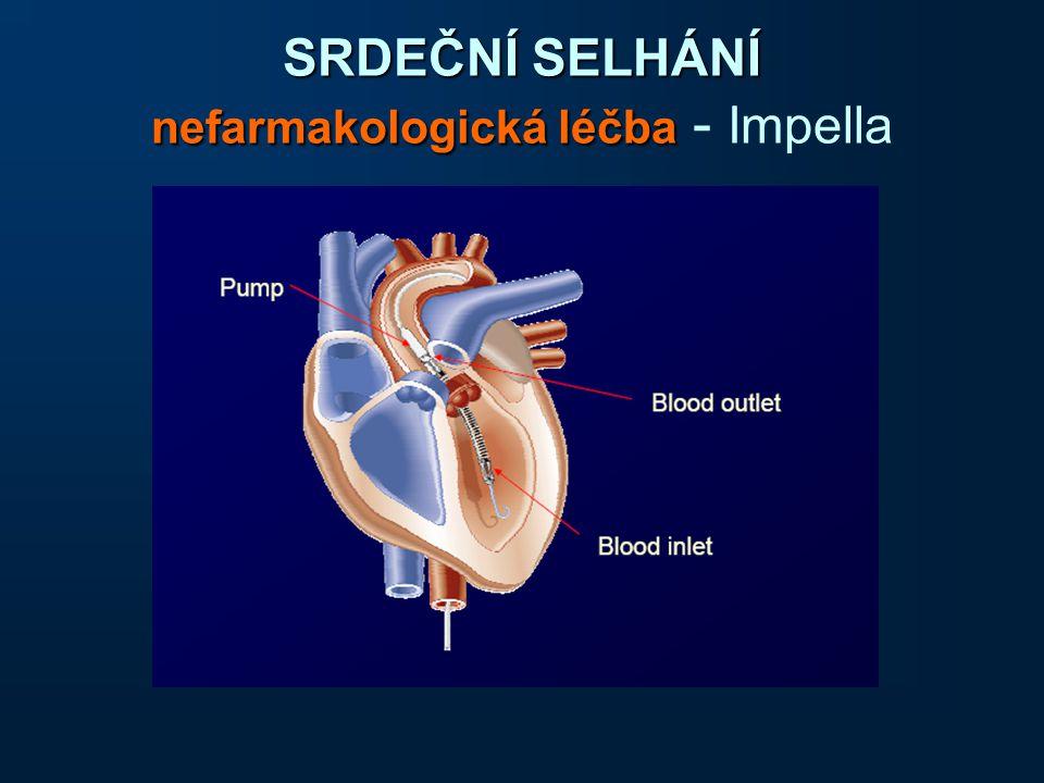 SRDEČNÍ SELHÁNÍ nefarmakologická léčba - Impella