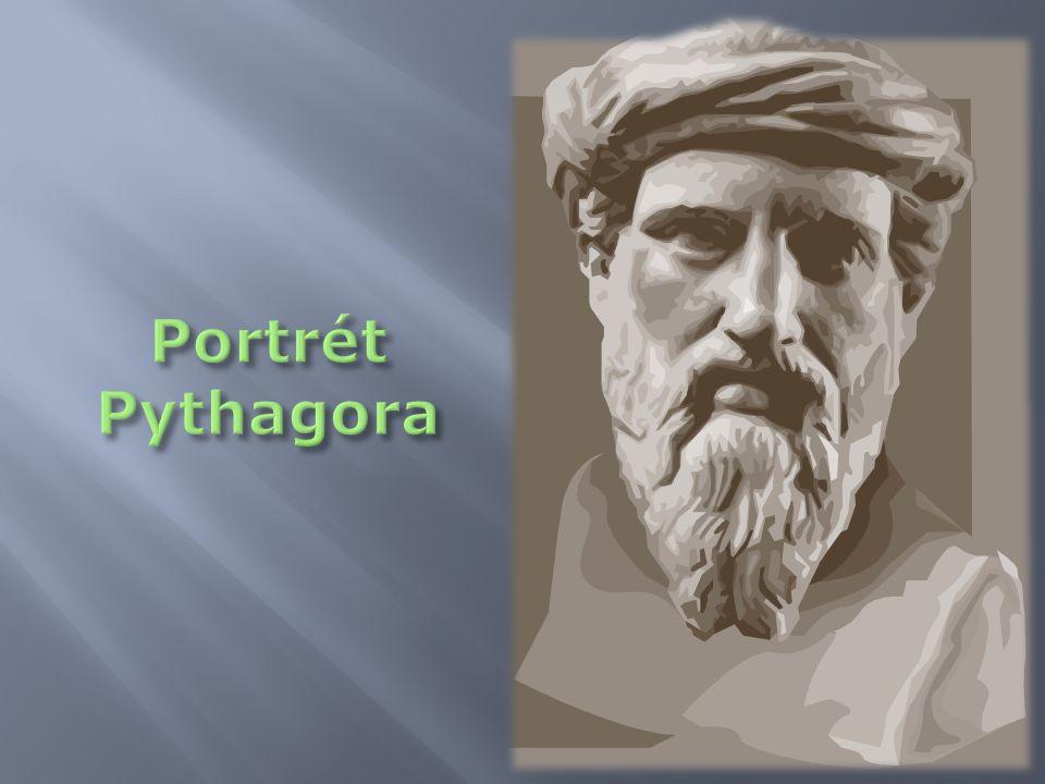 Portrét Pythagora