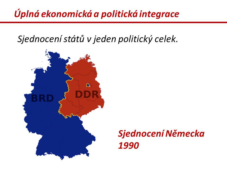Úplná ekonomická a politická integrace