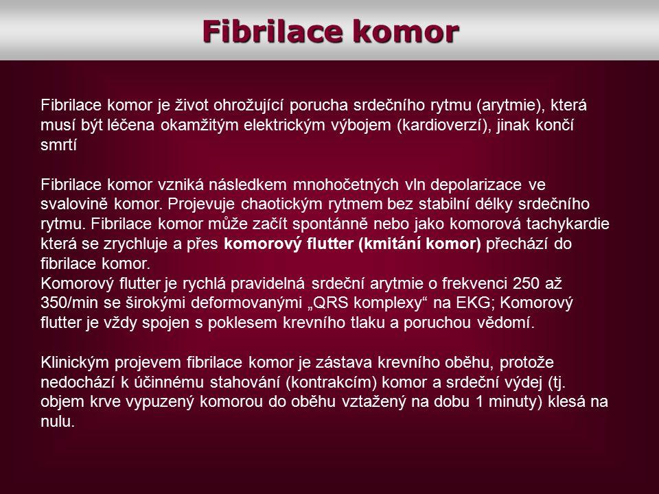 Fibrilace komor