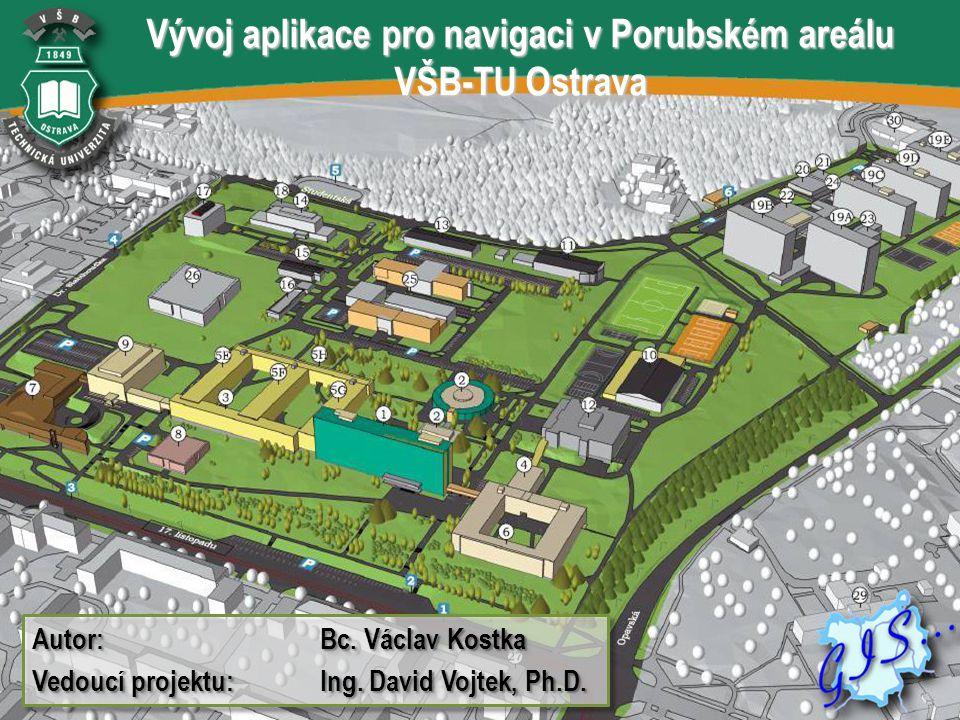 Vývoj aplikace pro navigaci v Porubském areálu VŠB-TU Ostrava