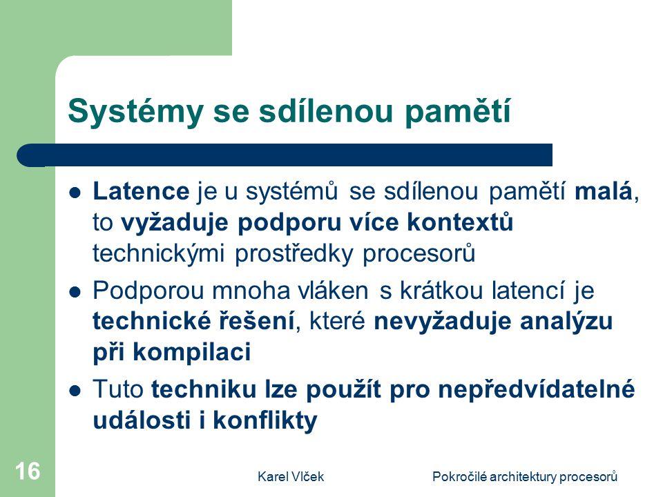 Systémy se sdílenou pamětí