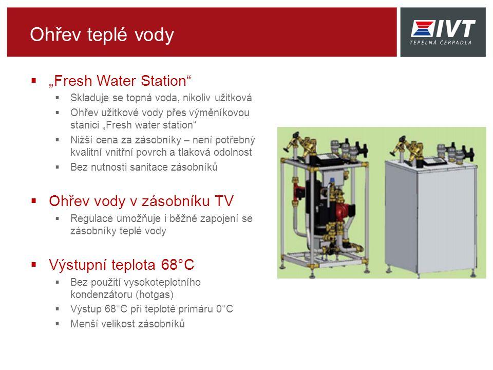 """Ohřev teplé vody """"Fresh Water Station Ohřev vody v zásobníku TV"""