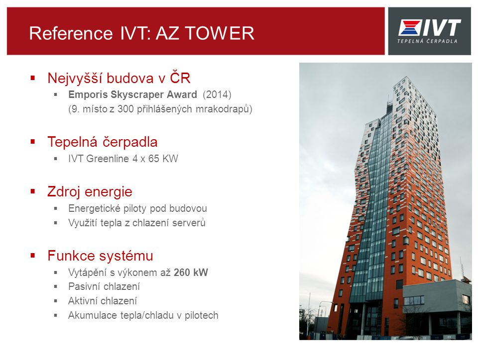 Reference IVT: AZ TOWER